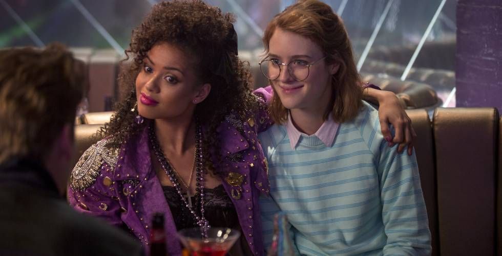 "Cena de ""San Junipero"", episódio da terceira temporada de Black Mirror."