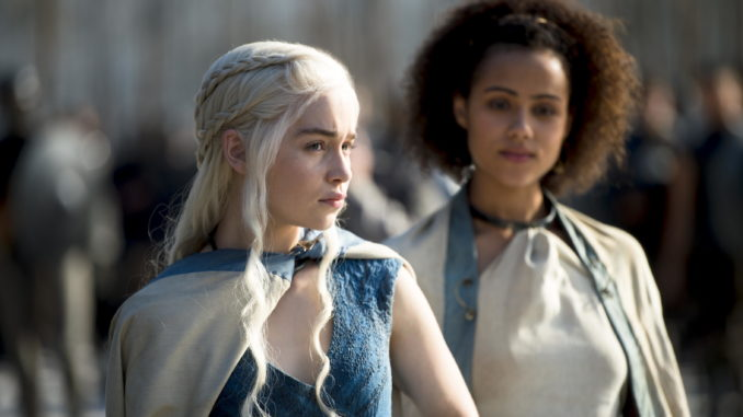 Khaleesi e Missandei.
