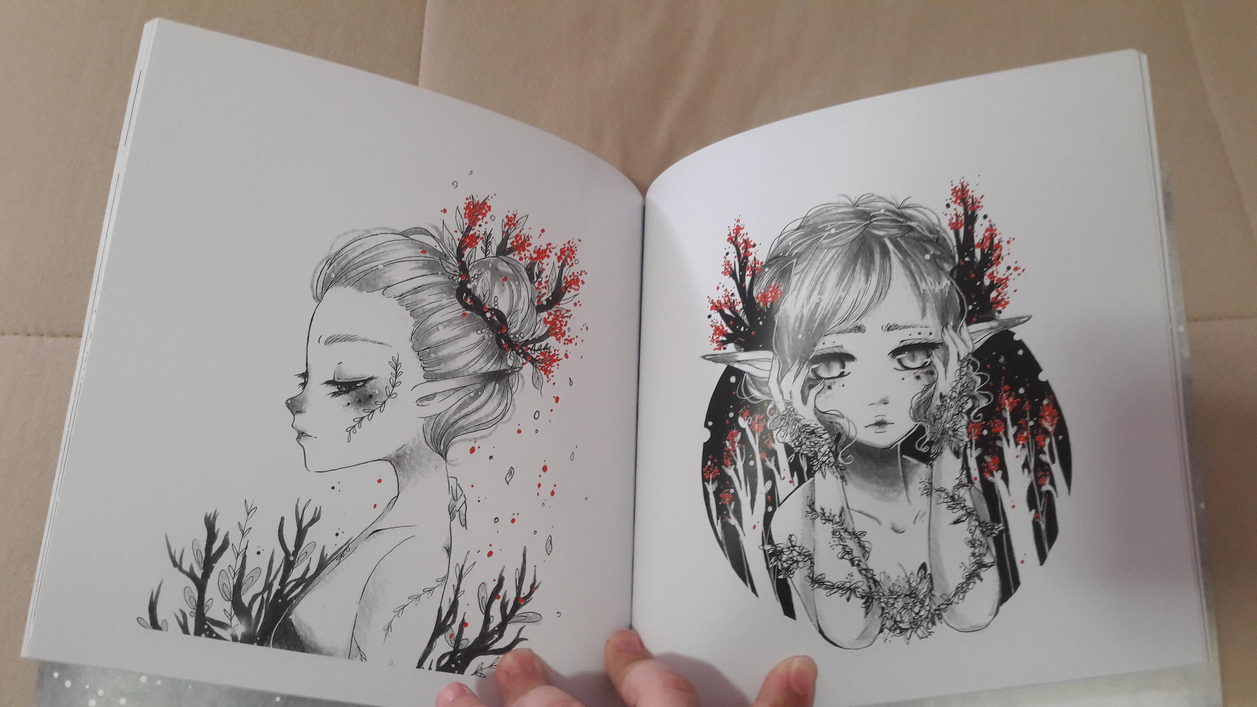 Artbook Elfitas.