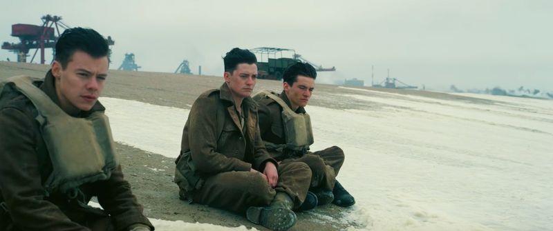Harry Styles em Dunkirk